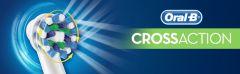 EB 50-8+2 CrossAction (10 kusů)+ zubní pasta Oral-B