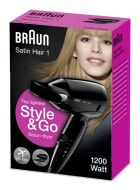 Braun Satin Hair 1 HD 130 To Go
